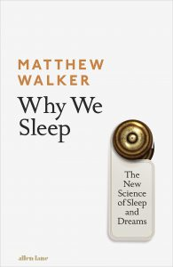 Why we sleep front cover