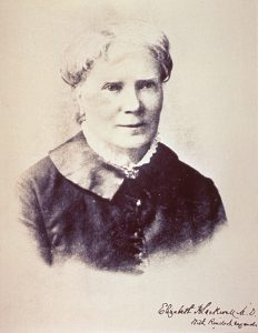 A portrait of Dr Elizabeth Blackwell