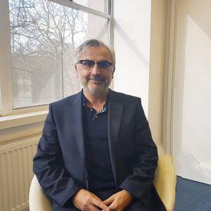 Alan Dovey, psychotherapist, Birmingham