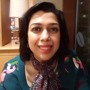 Reshma Rakshit smiling