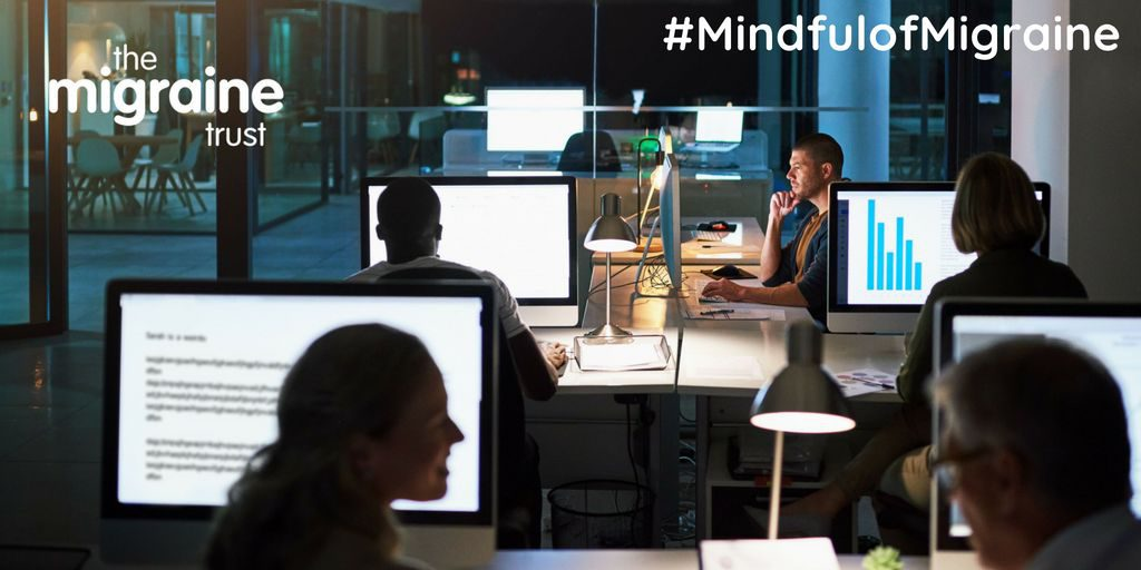 mindful of migraines in the workplace