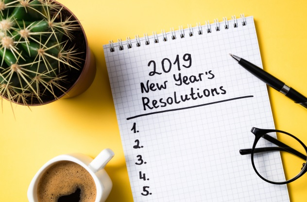How can I stick to my New Year's resolutions?