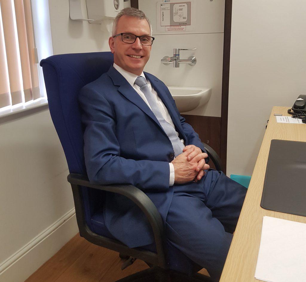 Andrew Pearson, orthopaedic surgeon in Birmingham