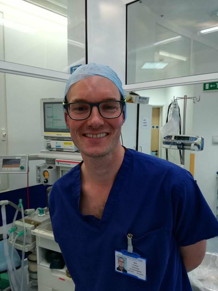 Mark O'Sullivan, podiatrist in Birmingham