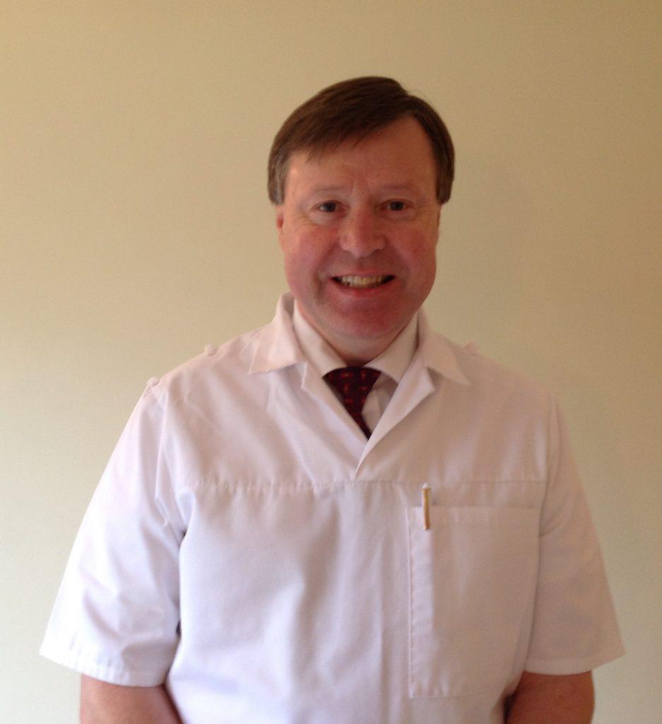 Andrew Robinson, podiatrist in Hertfordshire