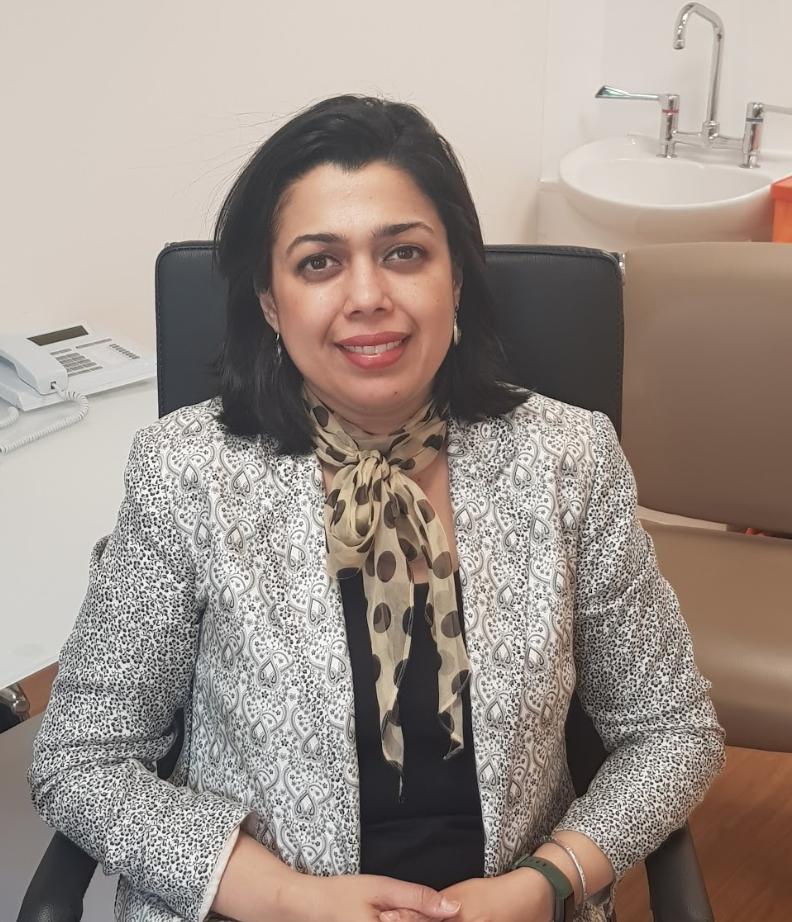 Reshma Rakshit, expert in chronic constipation