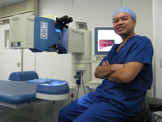 Amir Hamid, ophthalmic surgeon in London