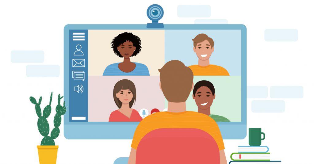 remote video conferencing COVID-19